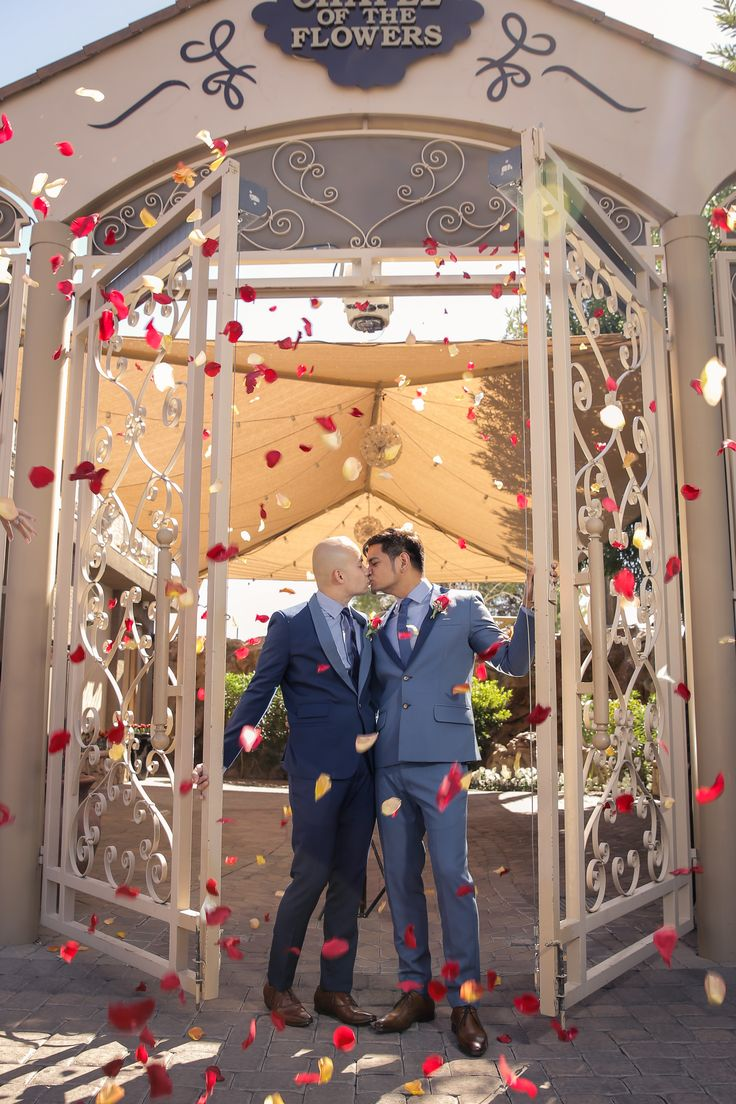 chapel of the flowers lgbt wedding las vegas wedding chapel same sex