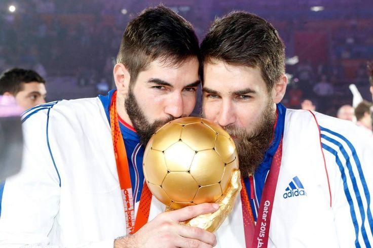 Frères Karabatic Equipe de France de Handball championne du monde pour la 5ème fois - 1er février 2015