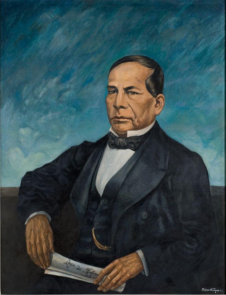 Nombre: Benito Juarez Autor:Roberto Montenegro Fecha:1962 En este cuadro se muestra al ex presidente, uno de los personajes más notables de la segunda mitad del siglo XIX