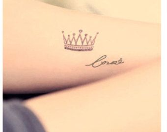 Queen Crown Tattoo On Wrist Images & Pictures - Becuo                                                                                                                                                                                 More