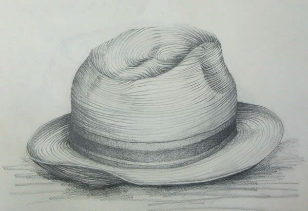 Line Drawing Hat : Best images about observational drawing on pinterest