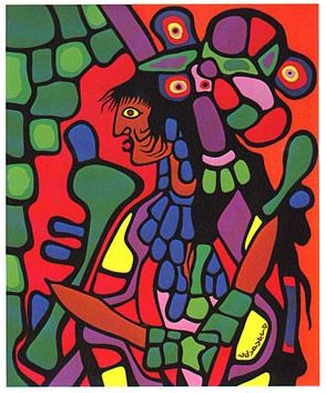 Great Mother - Norval Morrisseau, First Nations Artist
