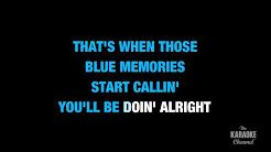 elvis presley blue christmas karaoke - YouTube