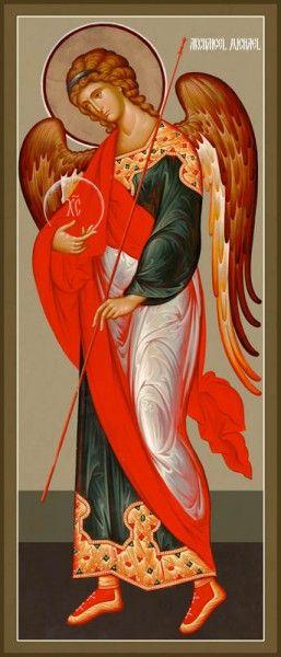 Archangel Michael, New Jordanville style by Hieromonk Andrei (Erastov)