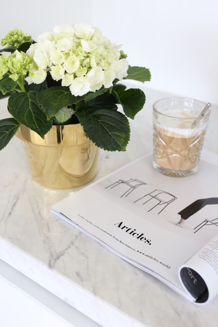 Homevialaura | spring vibes | coffee moment | hydrangeas