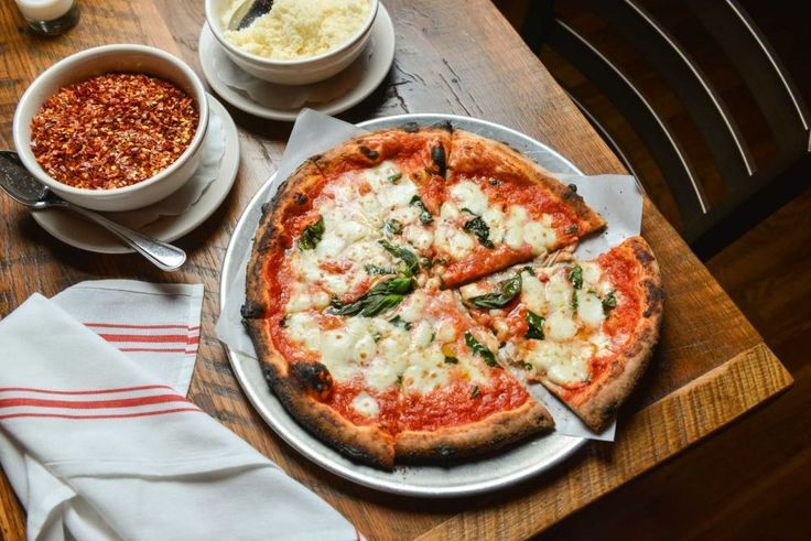 , Riverhead: PeraBell Food Bar, the offshoot of a popular Patchogue spot, has become an instant hit in Riverhead. Pizza from the restaurant's wood-burning oven is a must