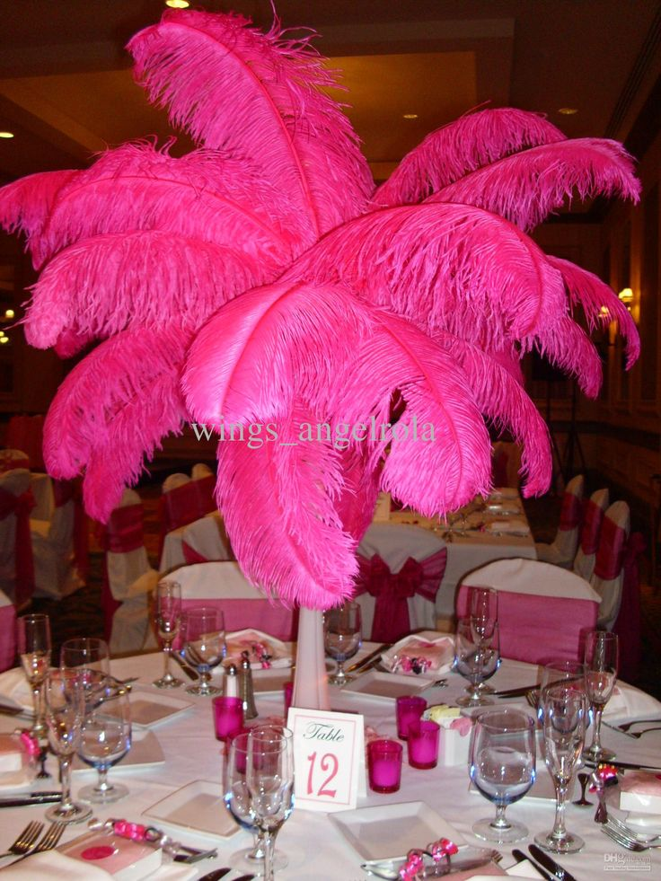 Red Birthday Centerpieces : Best tower vases centerpieces images on pinterest