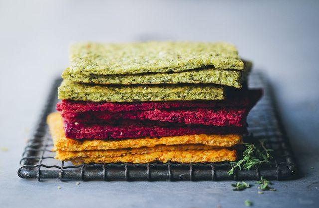 Vegetable flatbreads + video | Green Kitchen Stories | Bloglovin'