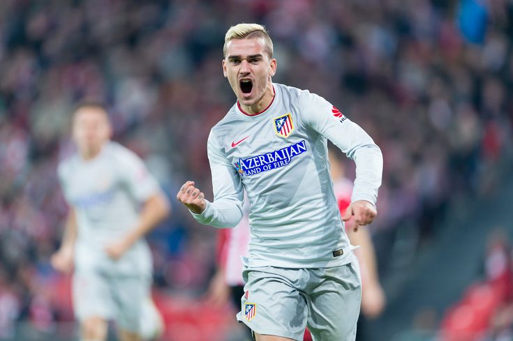 Griezmann - Griezmann in the match between Athletic Bilbao and Athletico Madrid, for Week 16 of the spanish Liga BBVA played at the San Mames, December 21, 2014. Photo: Ortzi Omenaka / Urbanandsport