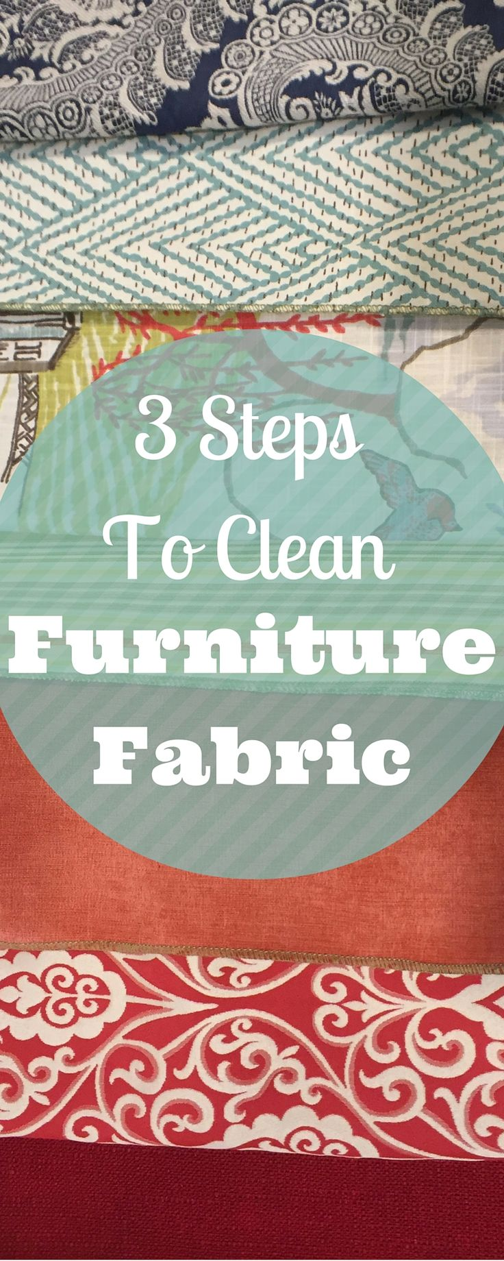 How To Clean Furniture Upholstery Fabric: 3 Simple Steps