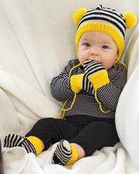 Neuleohje Vauvan setti