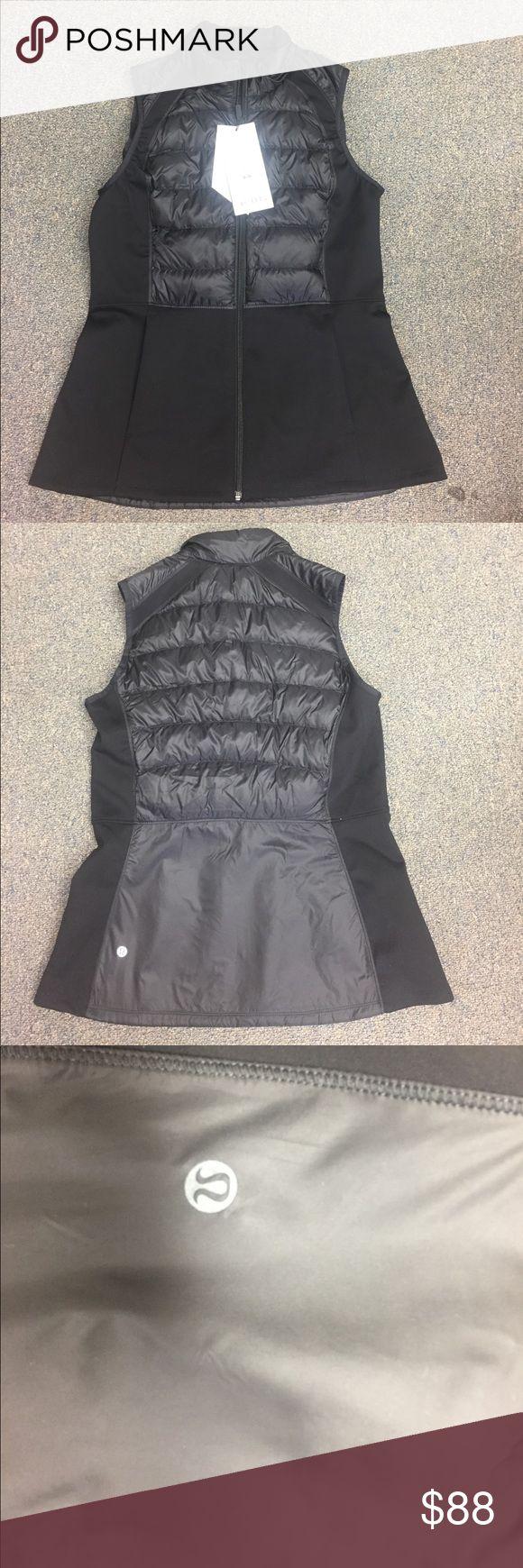 Lululemon vests brand new super cute! Great for cold weather work outs! lululemon athletica Jackets & Coats Vests