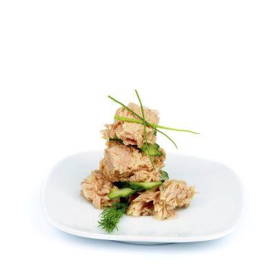 Tuniakovo paprikový proteínový šalát