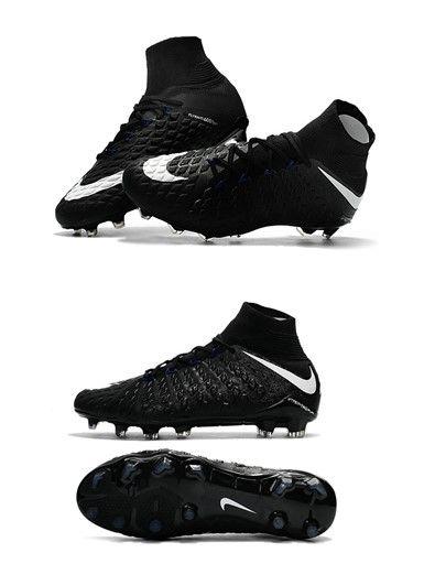 chaussure football nouveaux nike hypervenom phantom 3 df fg noir blanc