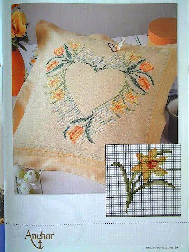 Free Cross Stitch: cross stitch patterns  pillow cross stitch pattern...