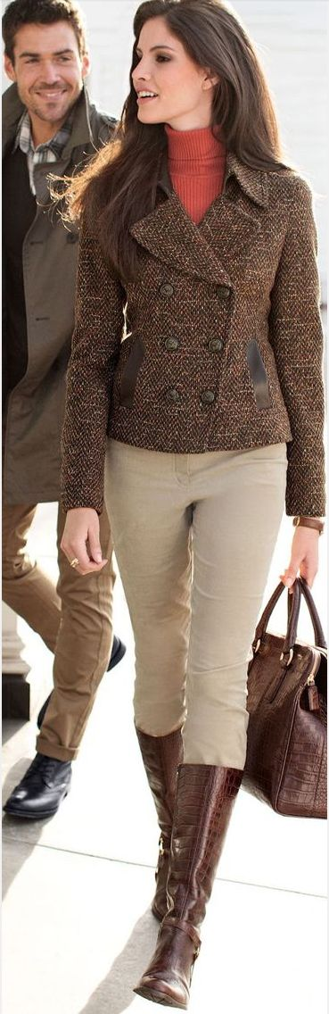 I love this outfit. I feel as if its something i could wear to the stable an then to town and still look great. Horsemanship chic