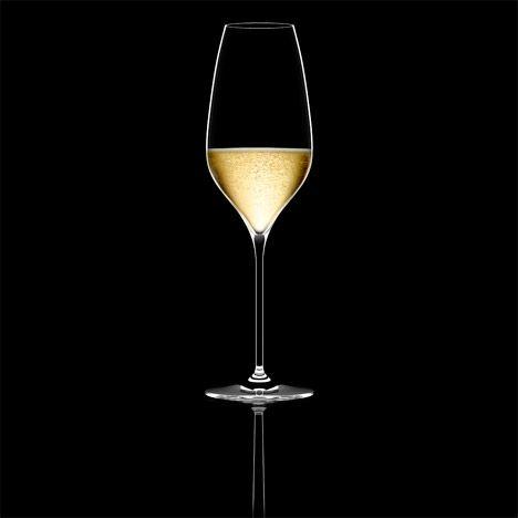 Richard Juhlin Optimum champagne glass by Claesson Koivisto Rune for Italesse