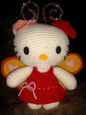 Hello Kitty Hada Amigurumi : 33 best images about hsdas crochet on Pinterest Free ...