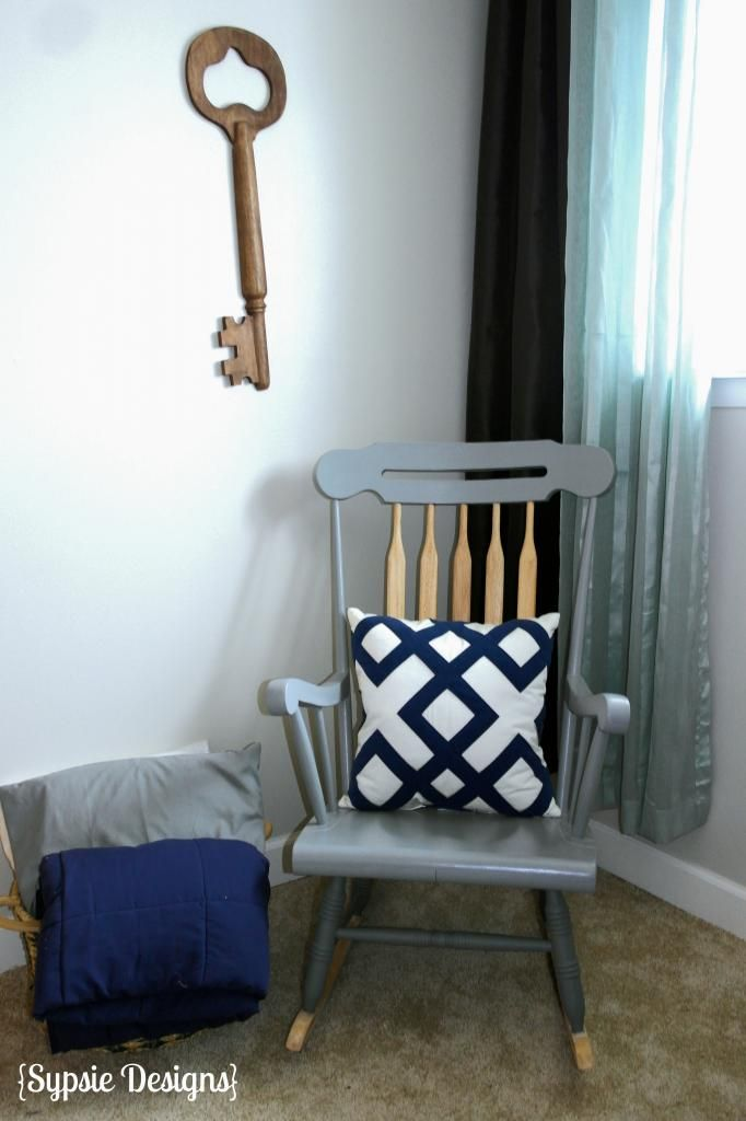 Rocking chair redo photo