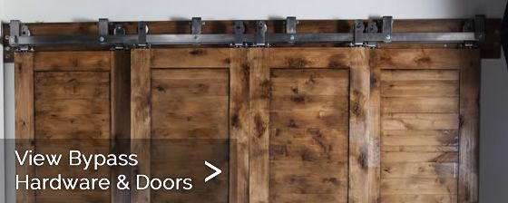 Bypass Rustic Barn Doors Rustic Homes Pinterest Barn