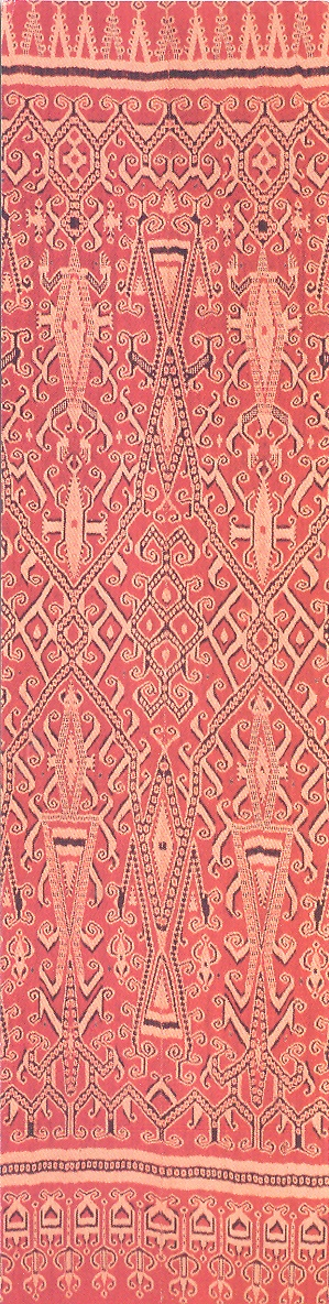 Pua kumbu, ritual cloth (detail) Indonesia, West Kalimantan, Kantu or Mualang…
