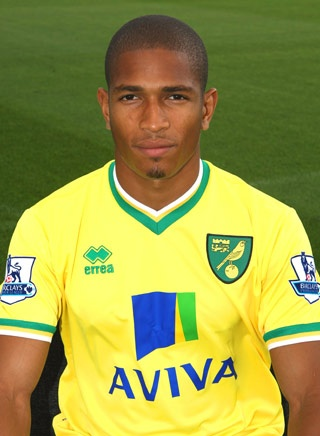 Simeon Jackson is a second-string striker for EPL team Norwich City.
