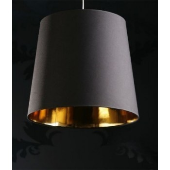 going to make this for the studio sapphire l stylish black fabric lamp shade with gold lining pendant light wwwneofurncouk black fabric lighting
