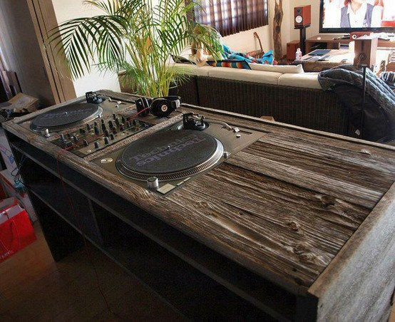 Wooden DJ booth                                                                                                                                                     More