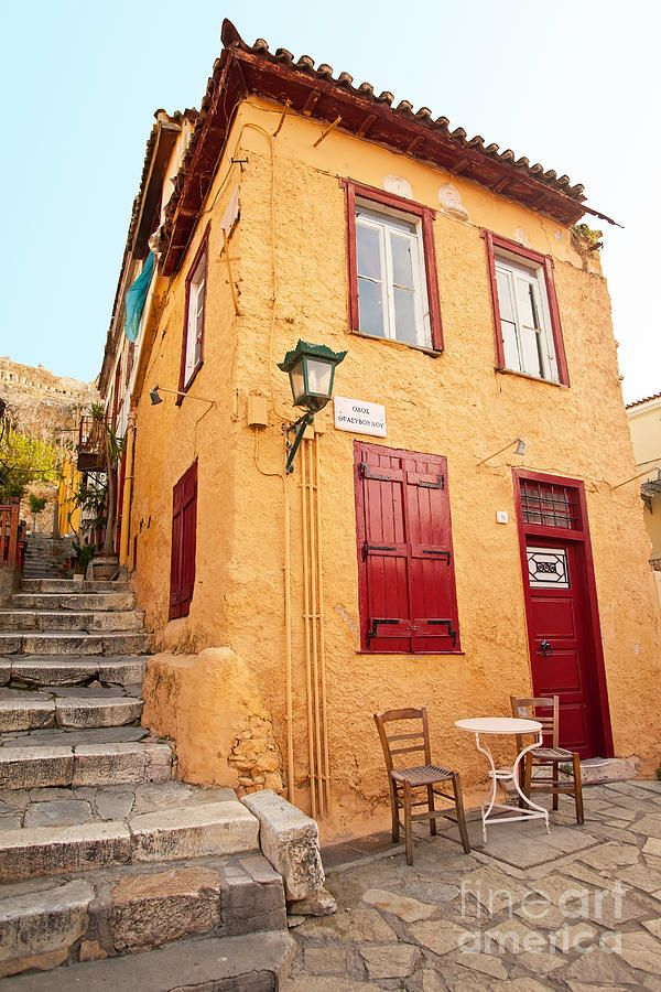 House in Plaka, Athens, Greece