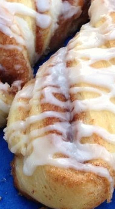 Amish Friendship Bread Cinnamon Twists