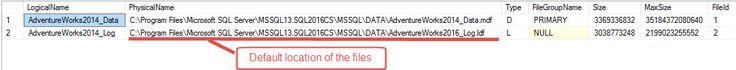 SQL Server: What's in my backup file?