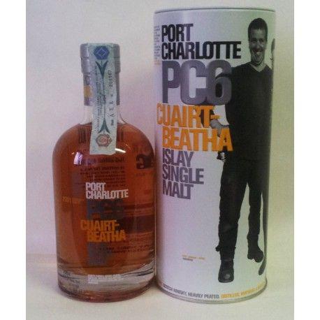 Una riedizione limitata a 18ooo bottiglie, a cura del mastro distillatore Jim McEwan, di un whisky prodotto nel paese di Port Charlotte nel 1929.  Distillato presso la Bruichladdich Distillery, questo single malt pesantemente affumicato a gradazione piena di 60,6°, invecchiato 6 anni in botti di rovere americana e rifinito in botte di Madeira sotto l'influenza del oceano.  Un whisky unico ed irripetibile destinato agli amanti di questa tradizione.  La bottiglia in vendita è la nr°6389