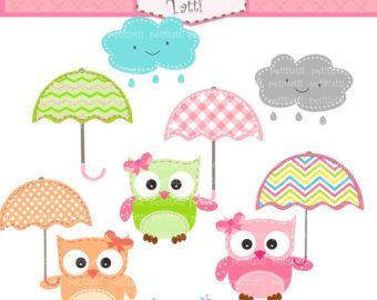 ON SALE owl clip art Digital clip art for all use by petittatti