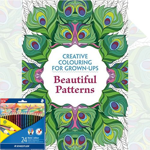 Creative Colouring for Grown ups Beautiful Patterns with free Colouring Pencils. Product Condition : New  Language : English  SUBJECT : Colouring Books  Age Level : 9-12  GTIN : 9781782432784. Shop now at: Foblit.com