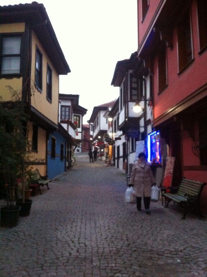 Eskişehir-Odunpazarı evleri