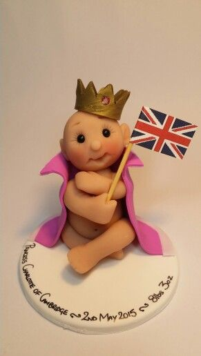 Royal baby Charlotte! Polymer clay - Cotswold Characters