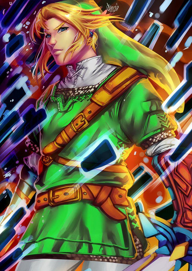 Hylian LHylian IHylian NHylian K) is the main protagonist of the Legend of Zelda series. Link - The Legend of Zelda-FANART :D