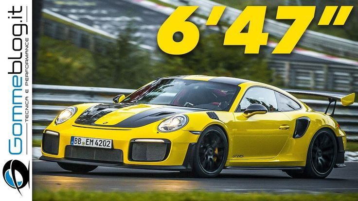 On-Board RECORD: Porsche 911 GT2 RS Lap Time (6' 47.3 sec.) on the Nurbu...