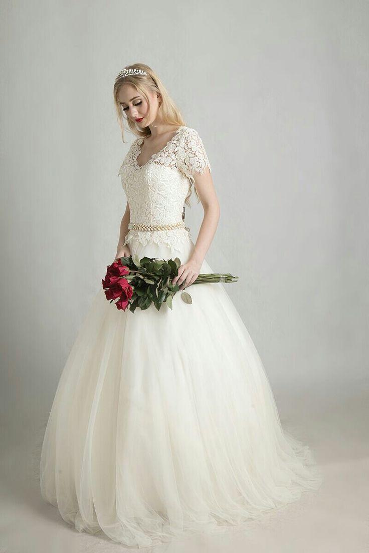 Wedding dress by Ivone Sulistia