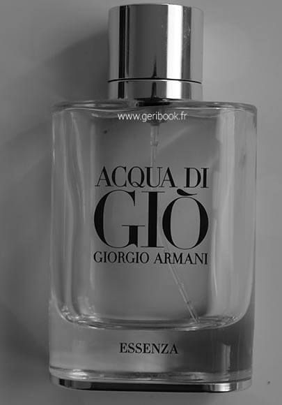 acqua di gio essenza parfum armani homme