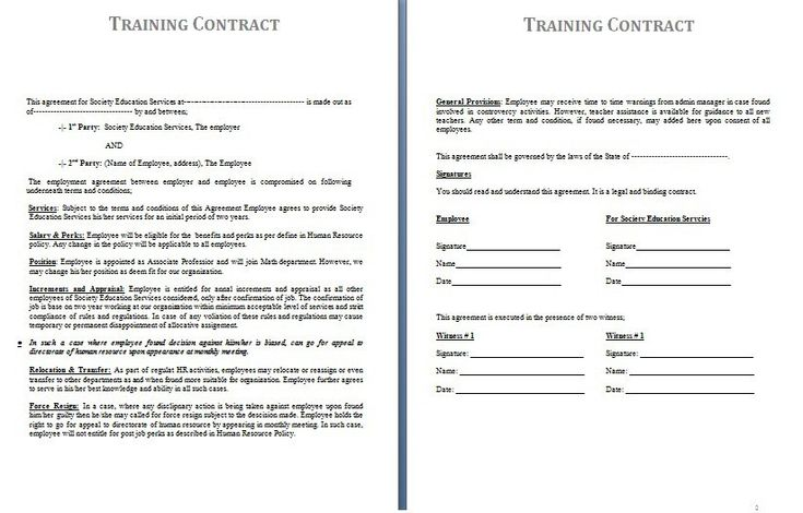 Nanny Contract Template Sample Nanny Contract Template 23 Simple