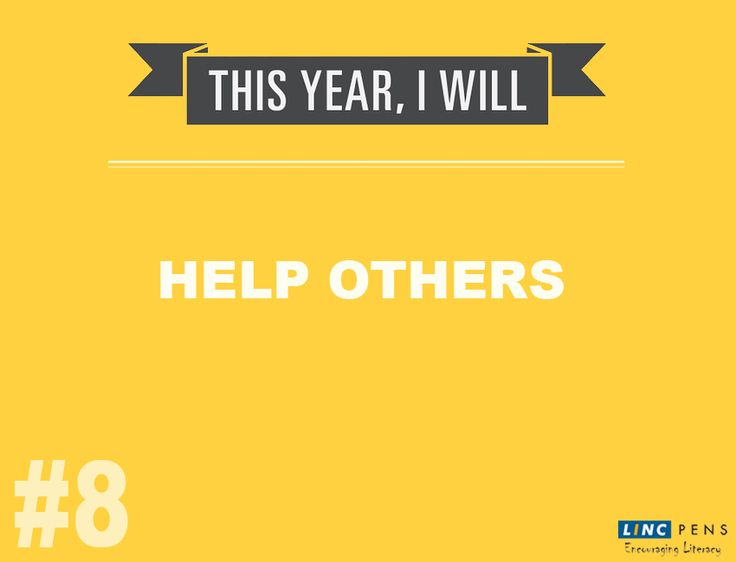 """Help others achieve their dreams and you will achieve yours"" Here is #Top10 #NewYearResolution #8 #EncouragingLiteracy"