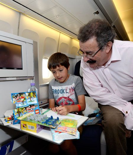 A social experiment conducted by British Airways and Professor Robert Winston…