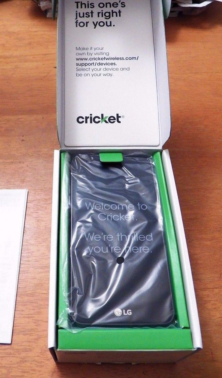 Cricketwireless com support devices - Unlocked New Lg Fortune 16gb M153 Cricket Gsm Black Titan