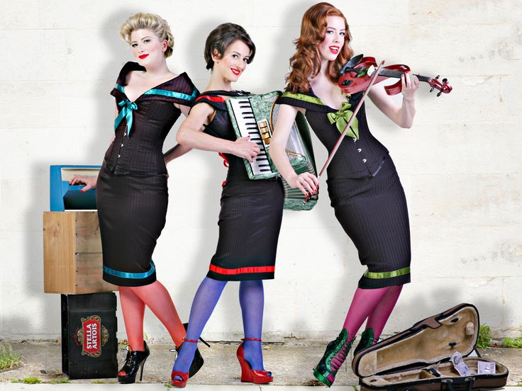 The Puppini Sisters The Rise and Fall of Ruby Woo (HQ)