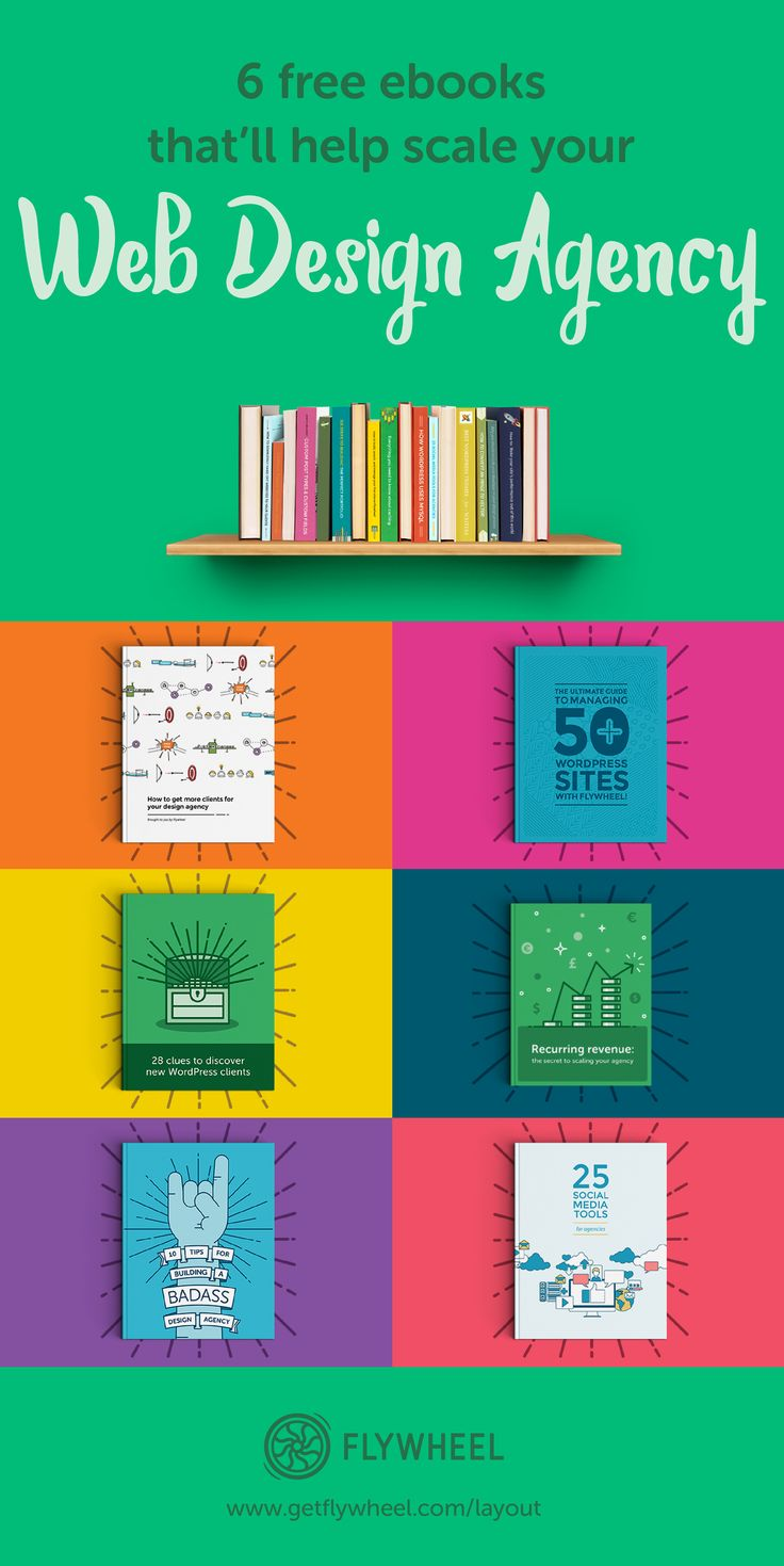 6 Free Ebooks That'll Help Scale Your Web Design Agency