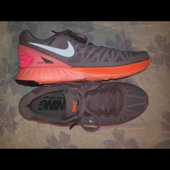 6 6 Grey Nike Lunarglide Orange Lunarglide Lunarglide 6 Orange Nike Nike Grey rCtsdhQ