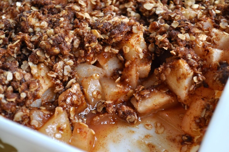 Mama's Pear Crisp from SouthernPlate