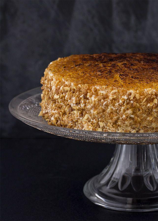 Receta tarta San Marcos