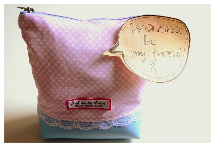 Besiege das Chaos in deiner Handtasche!!    Schöne Tasche zur Aufbewahrung deiner Schätze!!!   (Stifte, Schminke, Schmuck, Navi,...)    Das Täschch...